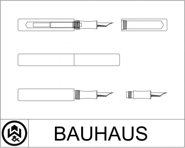 wet and wise cad design drawing bauhaus