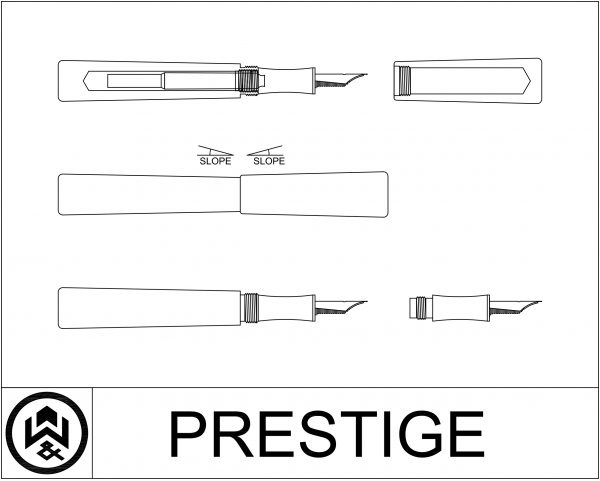 wet and wise cad design drawing prestige