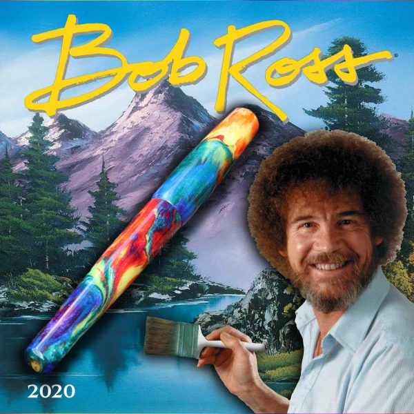 Wet and Wise Bob Ross Fountain Pen