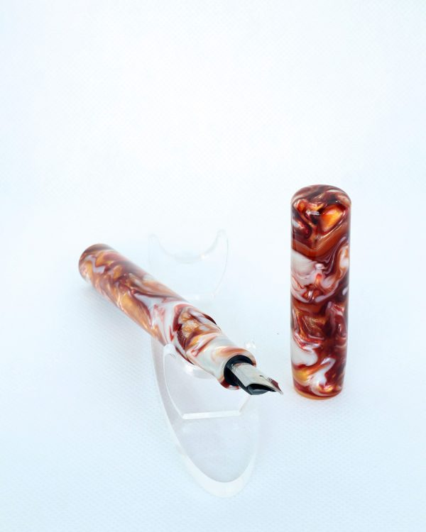 Wet and Wise Lava Explosion Fountain Pen