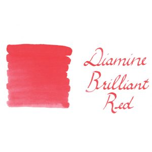 Diamine Brilliant Red-30ml Bottled Ink