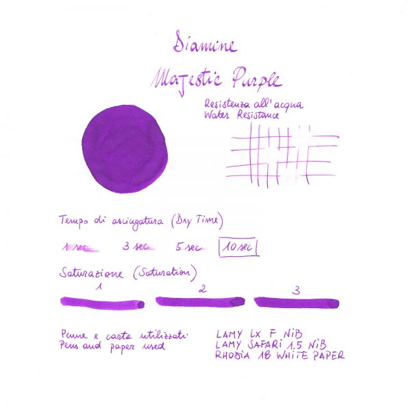 Ink Diamine Majestic Purple 80ml