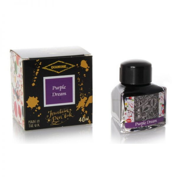 ink diamine purple dream 40ml - 150th anniversary