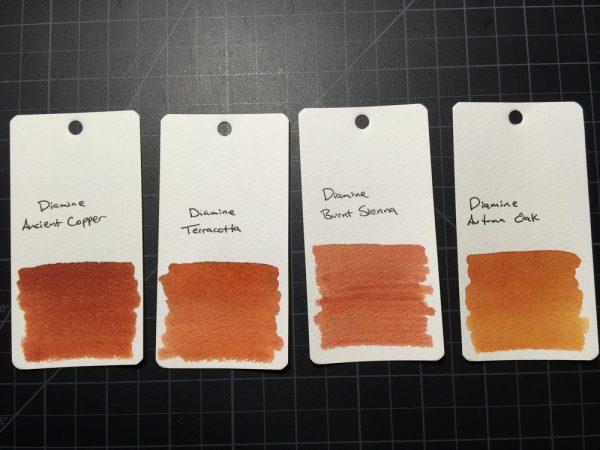 Ink Diamine Raw Sienna 30ml