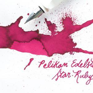 Pelikan Edelstein Star Ruby-50ml Bottled Ink (Ink of the Year)