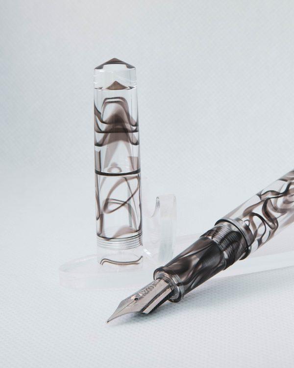 Wet and Wise Smoke Quartz Fountain Pen